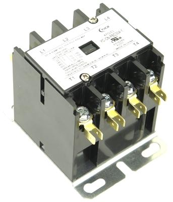 CN-PBC404-24V DEFINITE PURPOSE CONTACTOR 40AMP 4POLE 24V COIL 40 FLA 50 RES